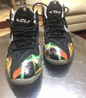 Nike LeBron Everglades size 7 for Sale in Virginia Beach, VA