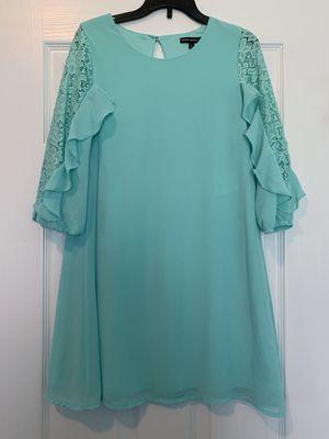 Girls Teal Dress Size 14 for Sale in Rockmart, GA