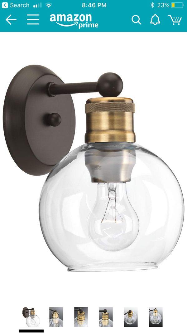 Brand new vanity Light fixtures