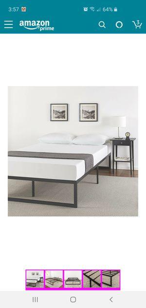 Zinus Abel 14 Inch Metal Platform Bed Frame with Steel Slat Support, Mattress Foundation, King for Sale in Brunswick, OH