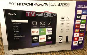"""50"""" Hitachi 4k UHD Roku Smart HDR for Sale in Maywood, CA"""