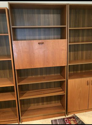 1 honey colored shelves, maybe 2 for Sale in Colorado Springs, CO