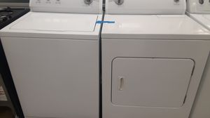 Kenmore washer and dryer set excellent conditions 4months of warranty for Sale in Bowie, MD