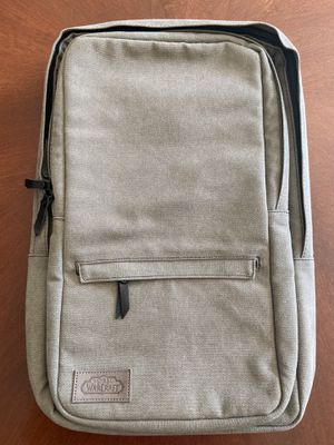 World of Warcraft canvas laptop backpack, official gear for Sale in Port St. Lucie, FL