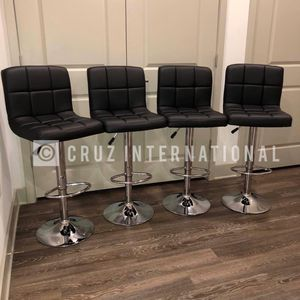 New 4 Black Stools for Sale in Orlando, FL