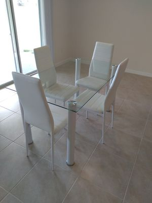 New Beautiful 5pc Dining Set: We Deliver for Sale in Davenport, FL