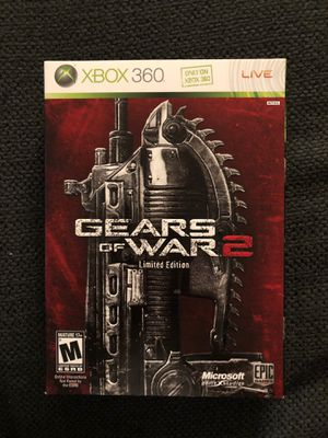 Gears of War 2 (Limited Edition - Steel Case, 2 Discs, and Art Book) (XBOX 360 - Like New) for Sale in Daniels, MD