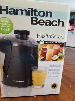 Hamilton beach health smart 400 watts juice extractor for Sale in Cypress, TX