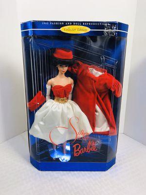 vintage 1997 Mattel Barbie Doll SILKEN FLAME 1962 Reproduction BARBIE for Sale in Central Falls, RI