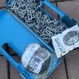 Snow Chains 15/16 for Sale in Gilroy, CA