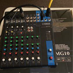 Yamaha Mg 10 Mixer for Sale in Richmond,  CA