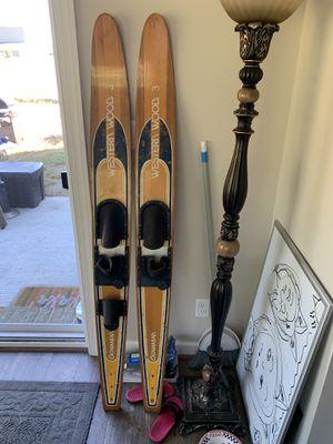 Western Wood 3 - Catamaran Water Skis for Sale in Chesapeake, VA