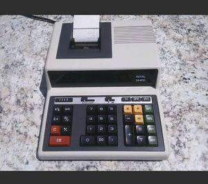 Royal 244PD Printing Calculator (Ticket Paper Included) *Tested & Working* Free Same-Day Shipping!!!. for Sale in NORTH PRINCE GEORGE, VA