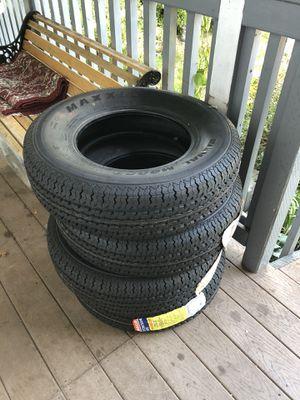Brand new trailer tires. 205/75/14 for Sale in Covington, WA