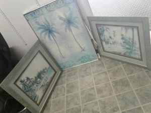 3 piece wall decor for Sale in Norfolk, VA