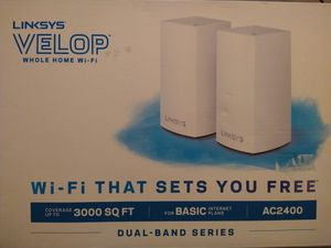 Linksys Velop AC2400 Dual Band for Sale in Fort Worth, TX