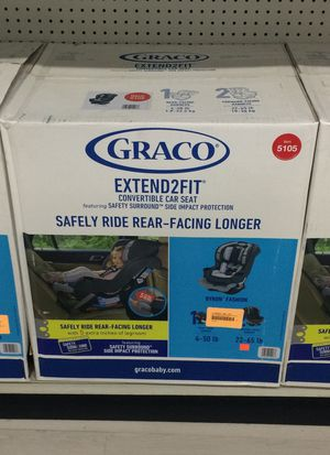Graco Extended2Fit. 3-in-1 Car Seat for Sale in Montebello, CA
