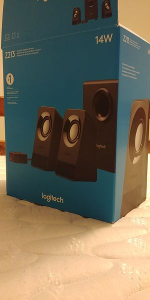 Logitech Computer Speakers for Sale in Raleigh, NC