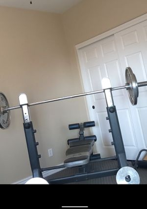 Adjustable workout bench for Sale in Mesa, AZ