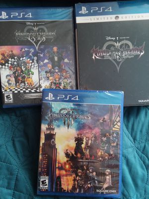 Brand new Sealed-Kingdom hearts 1.5-2.8-3 for Sale in Fontana, CA