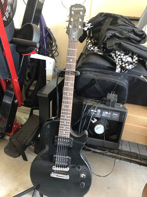 Epiphone Electric Guitar + Amplifier for Sale in Frisco, TX