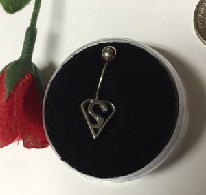 Superman belly ring. Surgical steel for Sale in Denver, CO