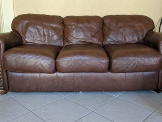 Leather Pullout Sofa for Sale in Surprise,  AZ