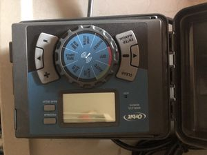 Orbit sprinkler timer with remote for Sale in Bountiful, UT