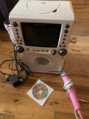 Singing Machine Karaoke Machine with 2 Microphones for Sale in West Linn, OR