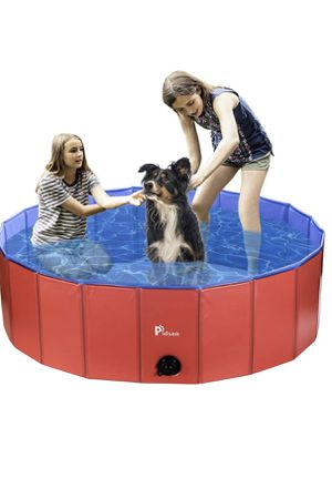 Foldable Pet Swimming Pool Portable Dog Pool Kids Pets Dogs Cats Outdoor Bathing Tub Bathtub Water Pond Pool & Kiddie Pools for Sale in Aventura, FL