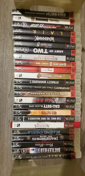 PS3 24 game bundle for Sale in Lynnwood, WA