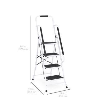 4-Step Portable Folding Anti Slip Safety Ladder for Sale in Detroit, MI