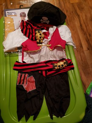 Toddler pirate costume for Sale in Fresno, CA
