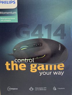 NEW Philips Gaming Mouse RGB Lights for Sale in Seattle,  WA
