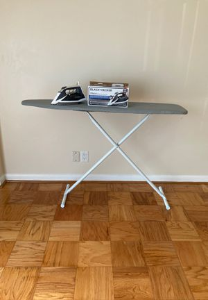 Iron + Ironing board for Sale in Arlington, VA