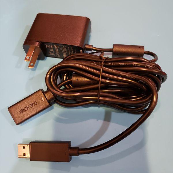 Microsoft Xbox 360 Kinect Sensor USB Power Adapter Cable charger. New