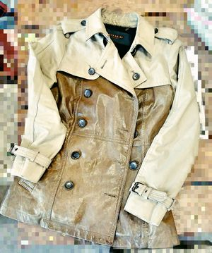Coach ladies leather coat for Sale in Portland, OR