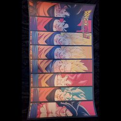 Dragon Ball Z Goku Evolution Poster for Sale in Bakersfield,  CA
