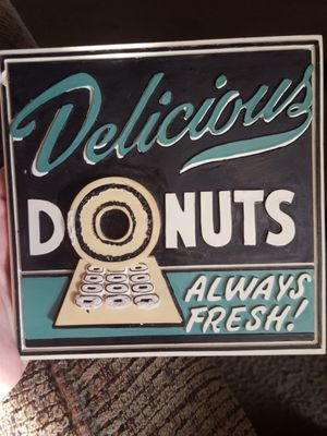 kitchen decor/donuts for Sale in Spring, TX
