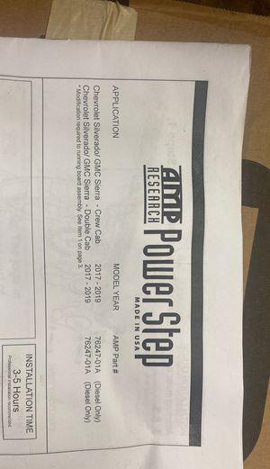 2017 - 2019 Chevrolet Silverado diesel or GMC Sierra diesel amp steps plug & play harnesses new for Sale in Fort Myers, FL