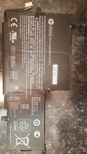 Hp laptop battery for Sale in St. Petersburg, FL