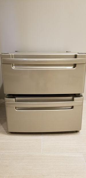 """Lg 27"""" pedestals for washer/dryer for Sale in Fairfax, VA"""