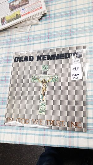 Dead Kennedys used Punk rock Vinyl record used, excellent condition for Sale in La Mesa, CA