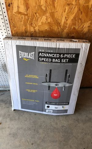 Advanced 6 piece speed bag set for Sale in Santee, CA