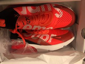 Nike supreme air Max 270C running shoes 2018 for Sale in Bronx, NY