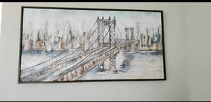 Kirklands City Bridge Framed Art Print for Sale in Atlanta, GA
