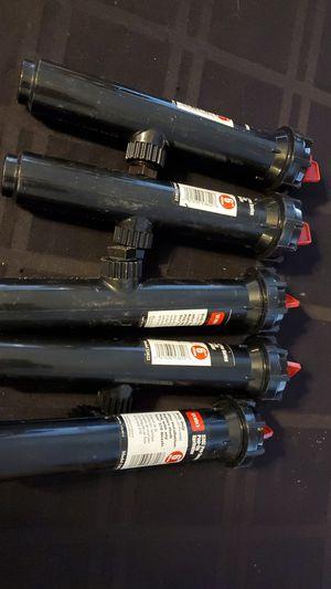 """Lot of 5! TORO 6"""" 570Z Pro Sprinklers for Sale in San Tan Valley, AZ"""