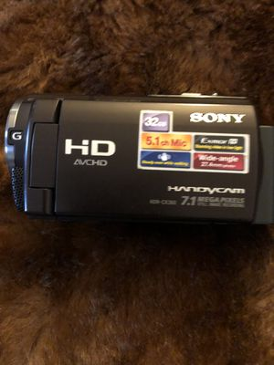 Sony HD handycam for Sale in Webster, MA