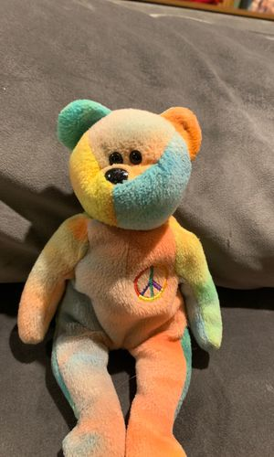 Beanie baby peace bear 1996 for Sale in Brook Park, OH