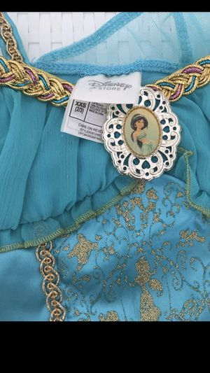 Disney Jasmine Belle Aurora Rapunzel Elsa Princess Costume Dress Pants Halloween XXS 2/3 for Sale in Miami, FL